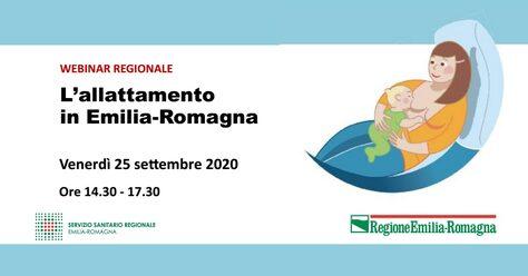 webinar allattamento regionale 2020