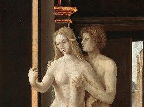 Jacopo de' Barbari - Una stanza con gli amanti (Wikimedia Commons)